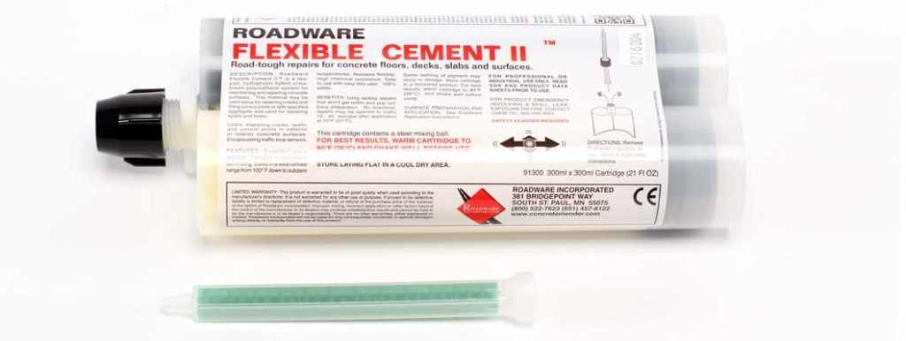 Roadware Flexible Cement II™ 300x300ml cartridge Item #91300