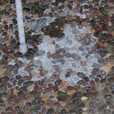 Repair Exposed Aggregate Concrete With Matchcrete Clear