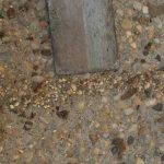 MatchCrete Clear™ for Exposed Aggregate Cracks